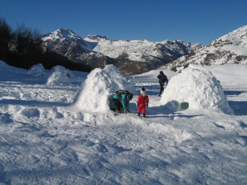 Village d'igloos
